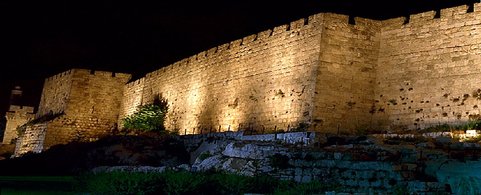 "Jerusalem ""the wall at night"""